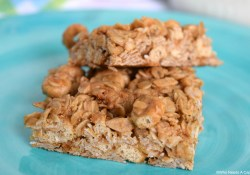 Peanut Butter & Honey Oat Bars