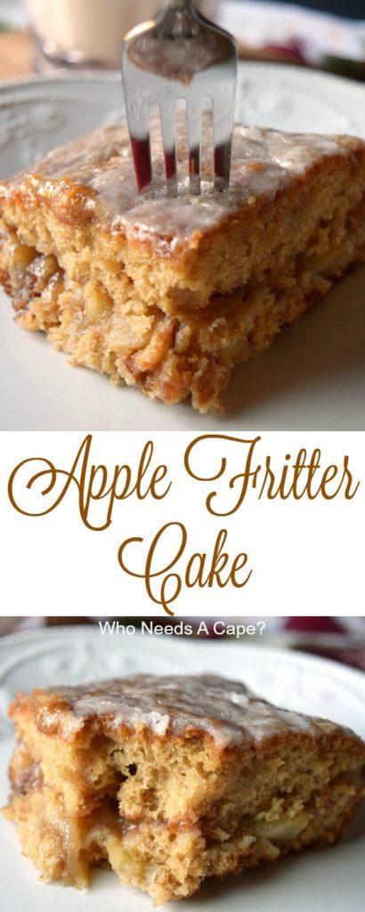 Apple Simple Recipe Scratch Cake