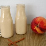 Cinnamon Peach Oatmeal Smoothie