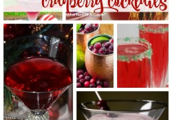 9 Festive Cranberry Cocktails