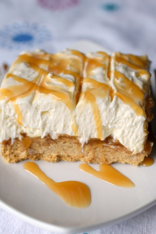 Deliciously simple to prepare, you'll love No Bake Caramel Cheesecake Dessert. Light, fluffy and ooey gooey good, this dessert is a winner!