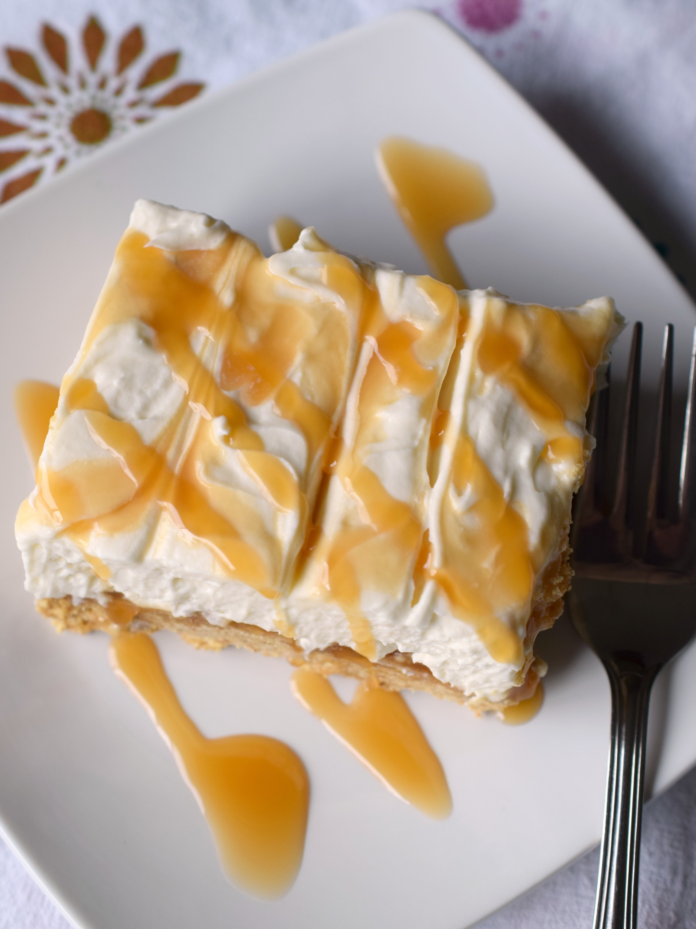 Deliciously Simple To Prepare You Ll Love No Bake Caramel Cheesecake Dessert Light