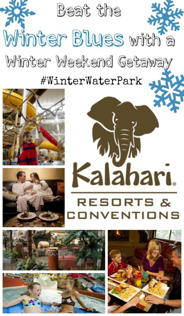 Beat the Winter Blues with a Winter Weekend Getaway to Kalahari Resorts Sandusky! Just a short drive away providing great family activities.