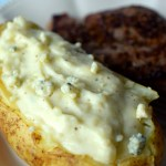 Twice-Baked Blue Cheese Potatoes