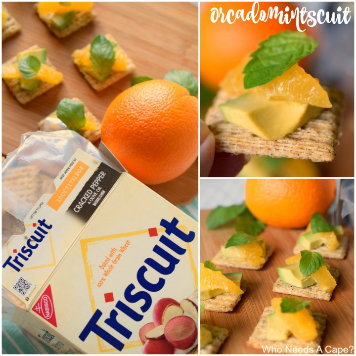 Make 'Scuit Happen with Orcadomintscuit by topping a TRISCUIT with avocado, navel orange & a sprig of mint. You'll love the flavors this snack delivers.