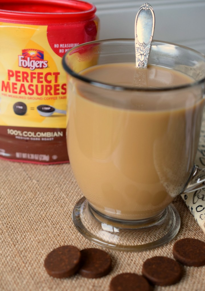 The Easiest Pot of Coffee I've Ever Made with Folgers® Perfect Measures. In a snap you'll have a fantastic pot of coffee, so easy and convenient.