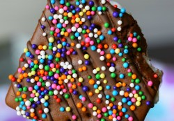 Ice Cream Sandwich Sprinkle Pops