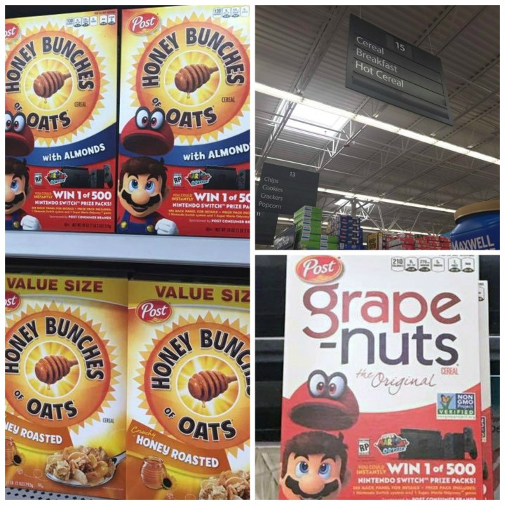 Cereal Snack Mix Walmart
