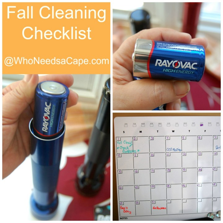 Fall Cleaning Checklist Who Needs a Cape 1