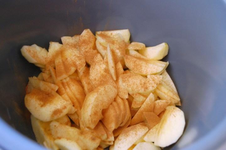 Instapot Apple Crisp