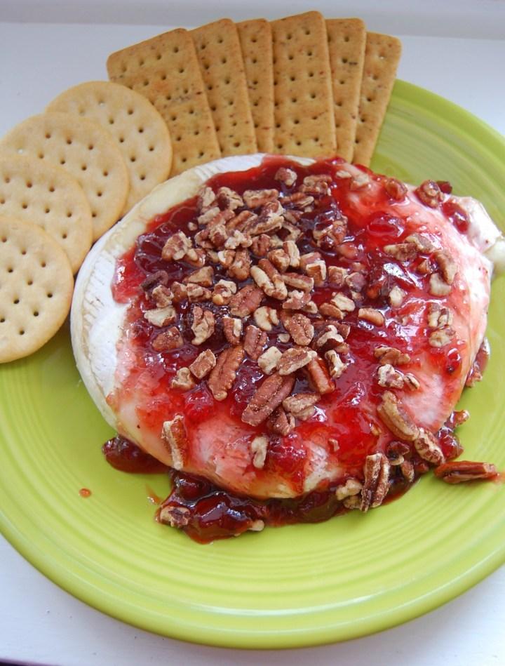 Strawberry Pecan Brie 4