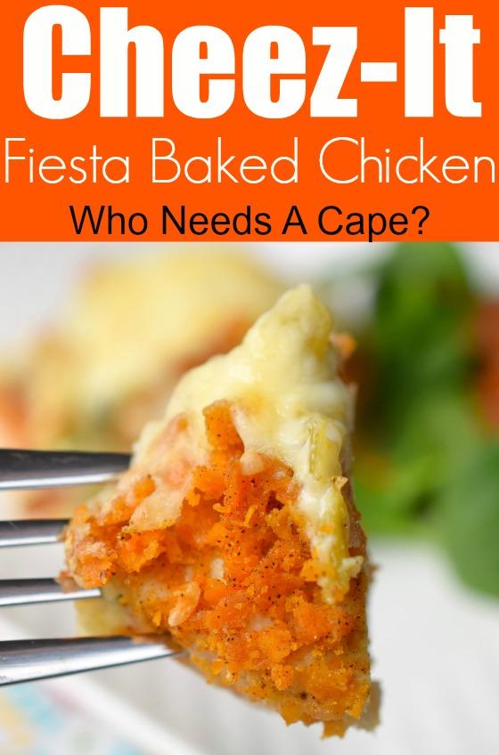 Cheez-It Fiesta Baked Chicken
