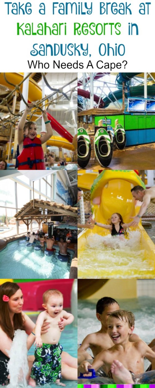 Take a Family Break at Kalahari Resorts in Sandusky, Ohio. Just a short drive, this family vacation destination will please the entire family!