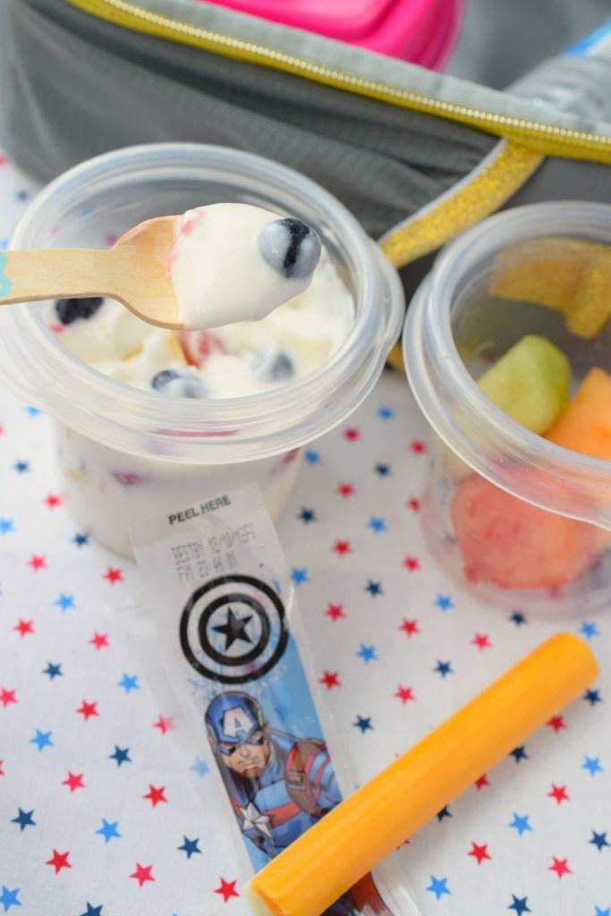 Lunchbox Creamy Fruit Salad