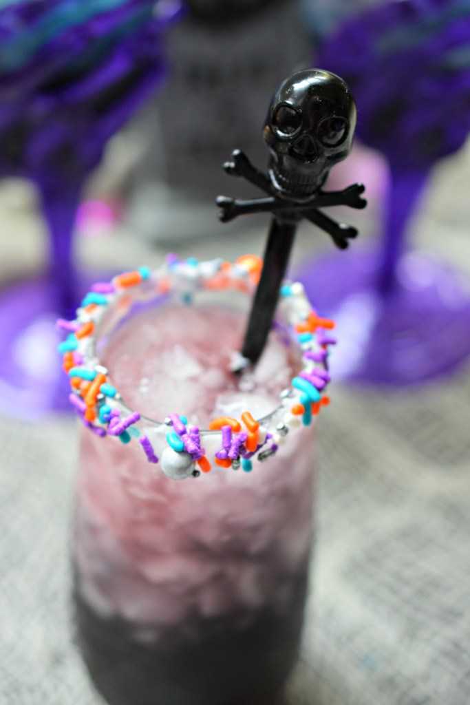 Need a fun beverage for Halloween parties? The Crypt Keeper Cocktail is easy to make, delicious and great for your spooky party.