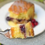 White Chocolate Cranberry Coffee Cake #ChristmasSweetsWeek