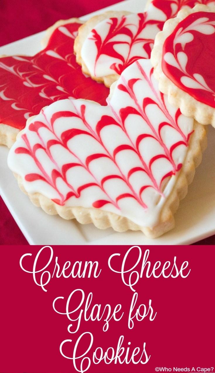 Cream Cheese Glaze for Cookies