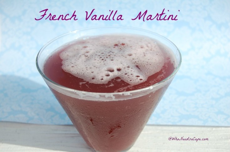 French Vanilla Martini