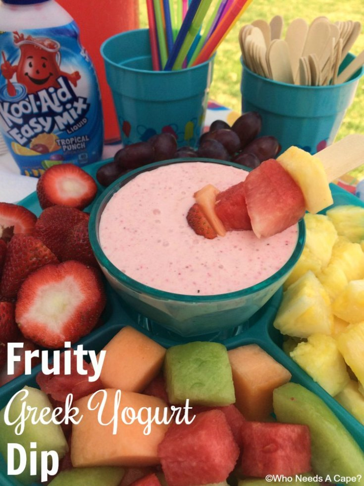 Fruity Greek Yogurt Dip