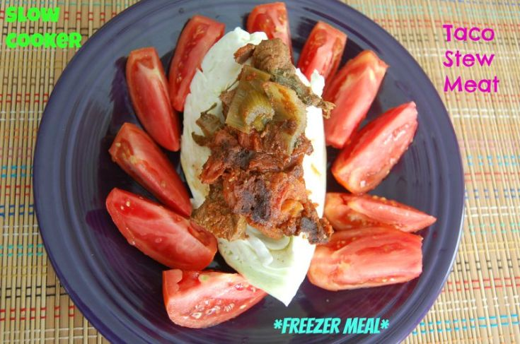 Slow Cooker Taco Stew Meat