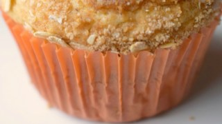 Streusel Topped Chai Muffins