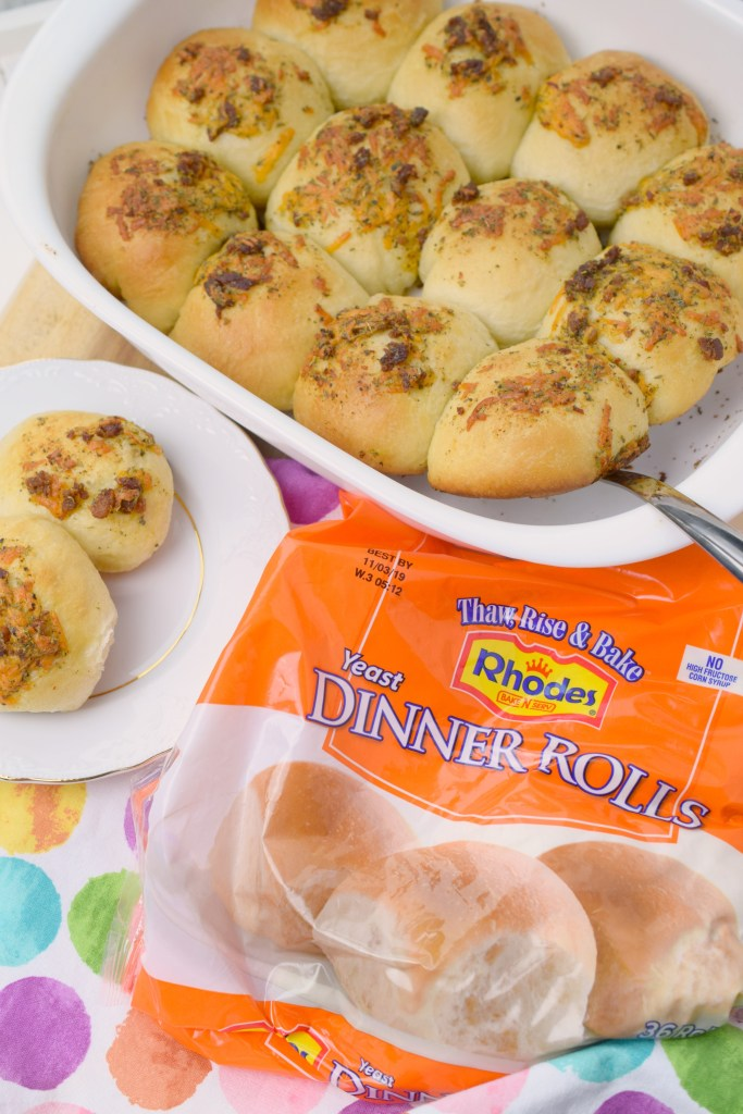 Buttery Bacon Cheddar Rolls Who Needs A Cape