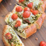 French Bread Pesto Pizza