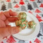 Almond Christmas Balls