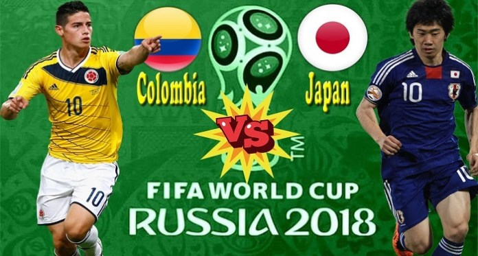 World Cup Today: Colombia vs  Japan, Poland vs  Senegal