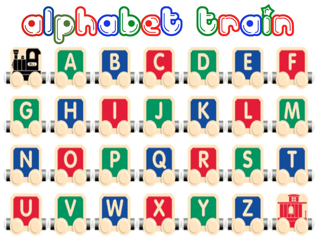 Alphabet Train Foam Letter Activity