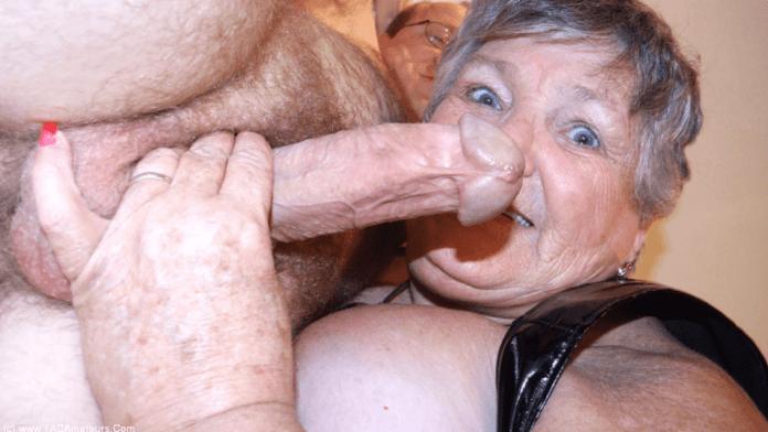 Grandma Libby very old granny porn