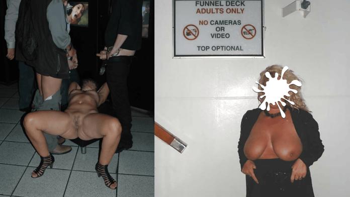 adult movie theater slutwife