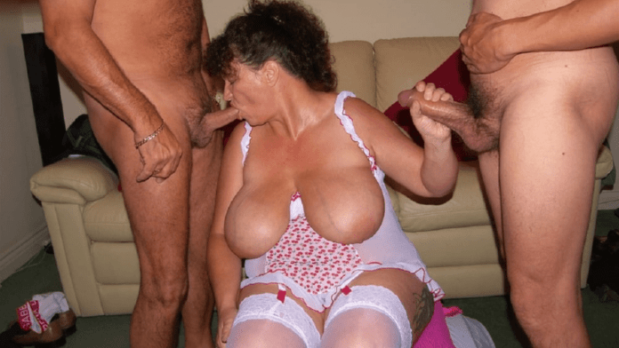 Granny Kim amateur British granny sex