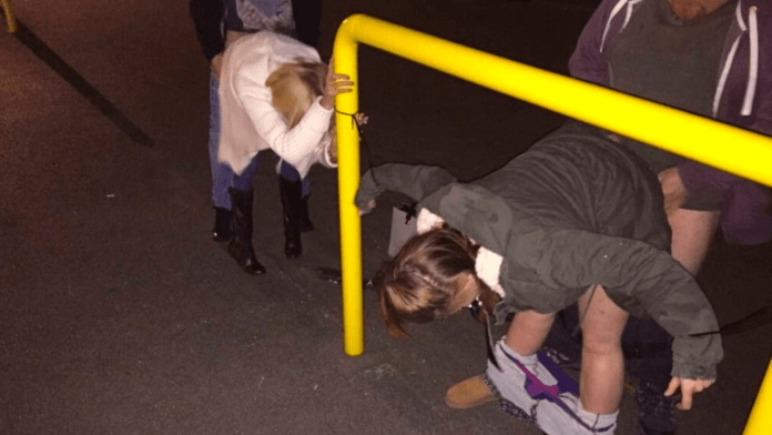 Manchester Dogging fuck in a car park