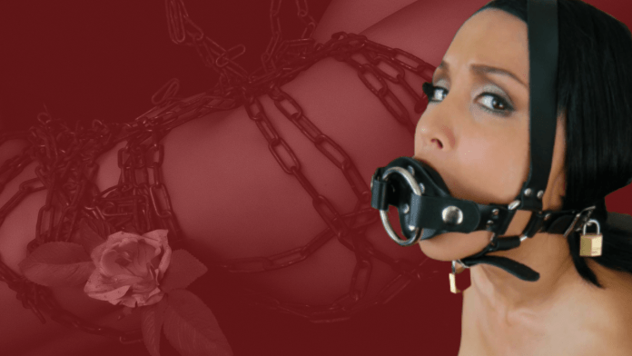 The queen of ball gag bondage
