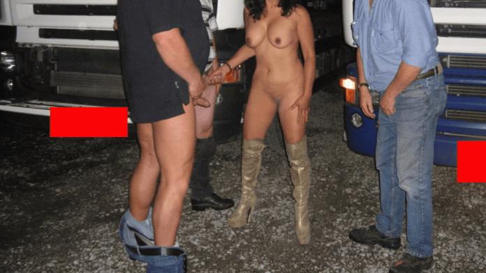 This lot lizard created three amateur truck driver porn stars