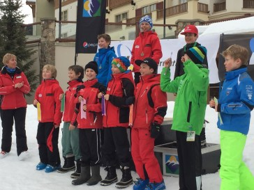 Awards for the 2005 boys - Max on top of the podium, two friends from Revelstoke also in the top 10.