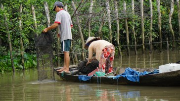 Putting out the nets