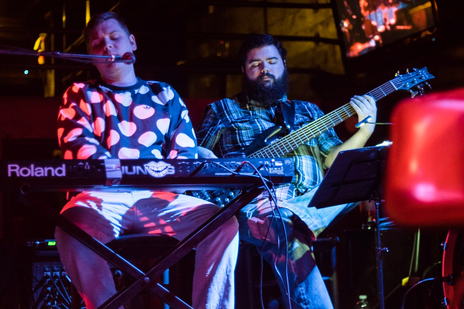 """house-band music PDX Portland late-night talk show """"Who's the Ross?"""" Aaron Ross comedy comedian funny"""