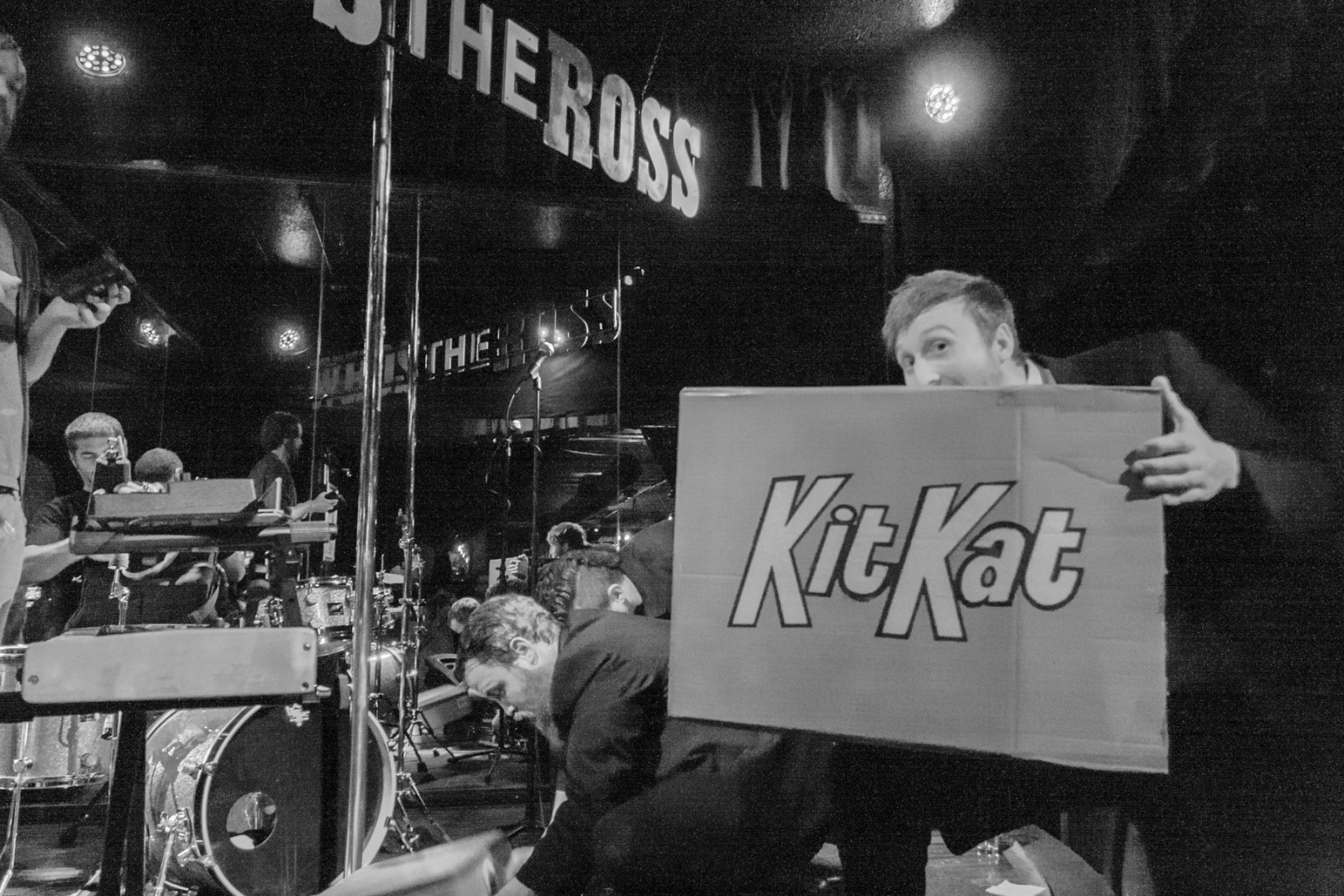 Who's the Ross? at the Kit Kat Club