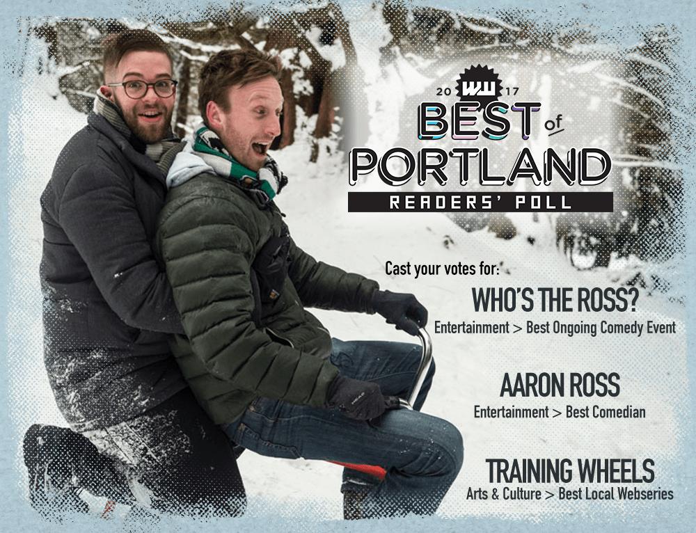 "Training Wheels ""Best of Portland"" comedy humor funny web series online sitcom Aaron Ross"