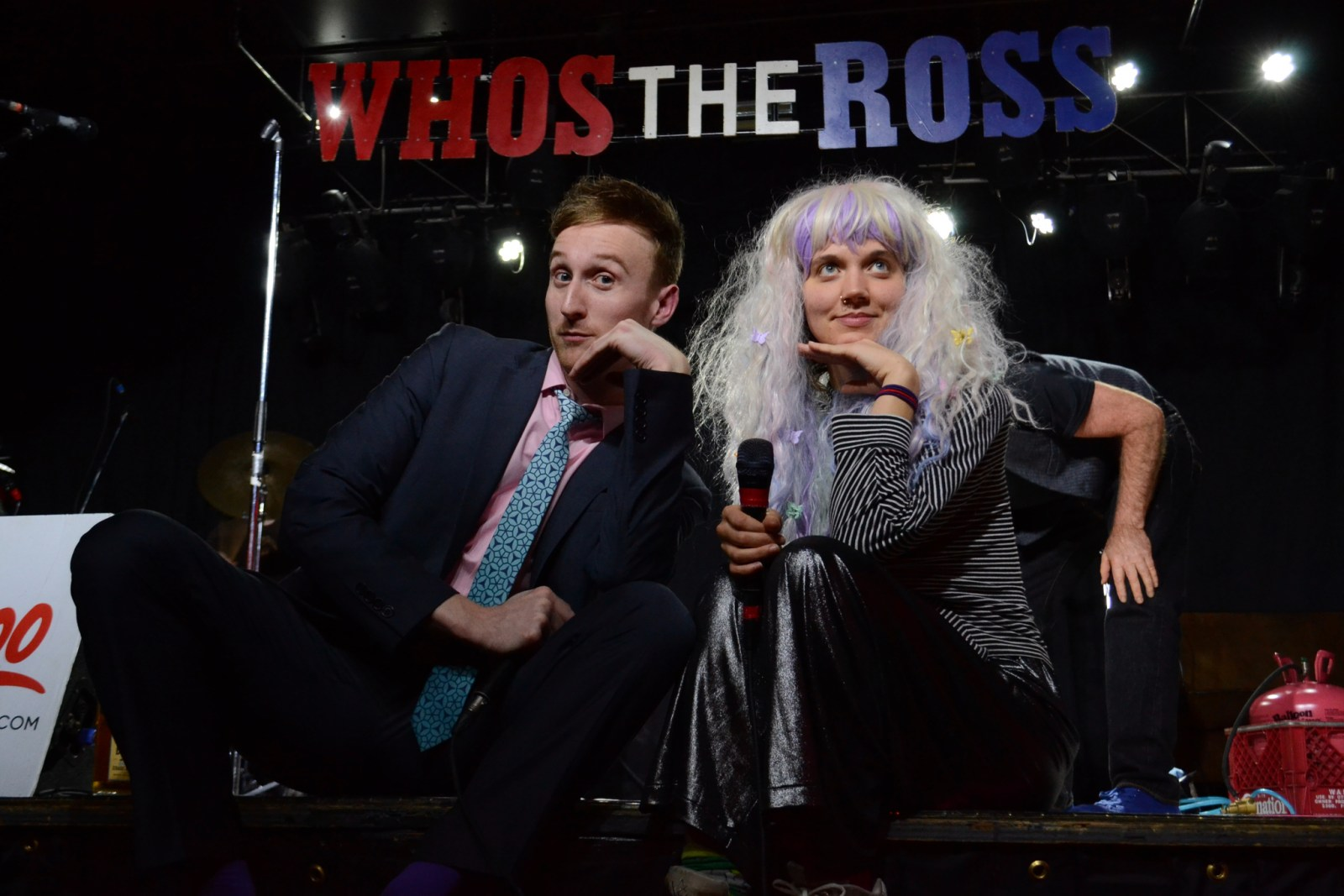 """Coco Columbia Aaron Ross """"Who's the Ross?"""" music comedy PDX Portland"""