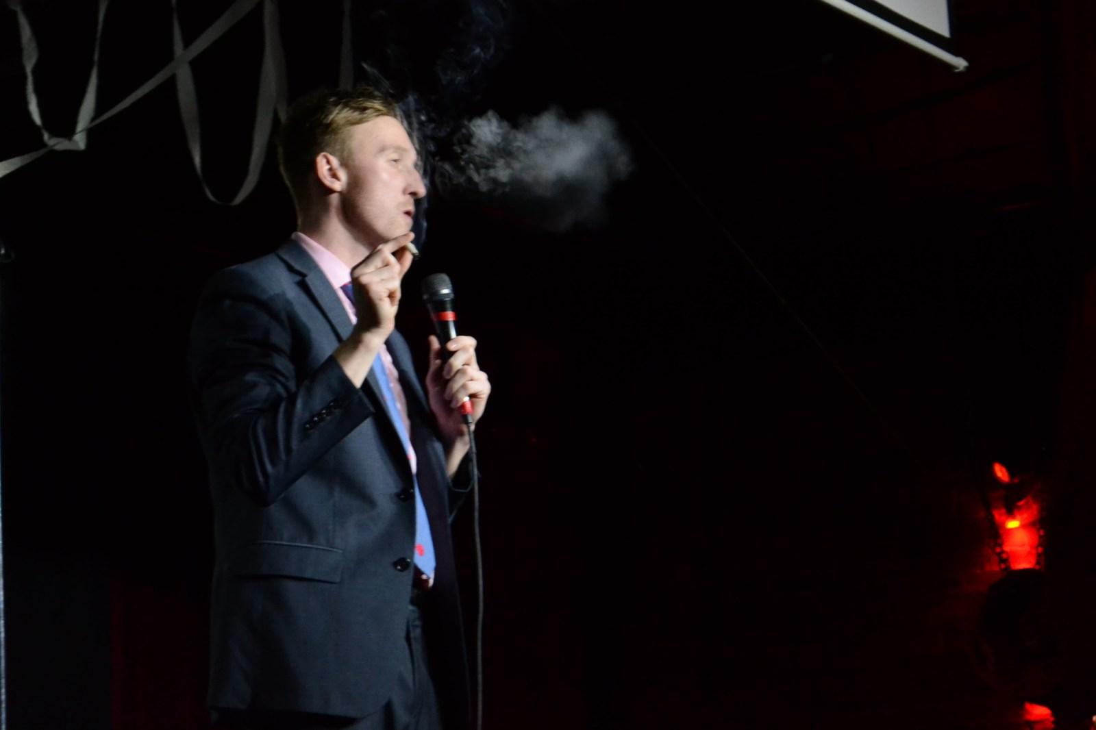 "funny marijuana Antonio Harvey Terra Mater game hip-hop PDX Portland LA Los Angeles comedian weed smoke comedy comedian aaron ross ""Who's the Ross?"" late-night talk show live performance"