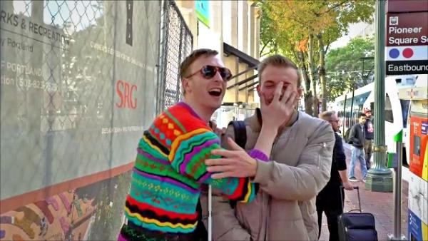 Aaron Ross comedian Portland PDX actor one-man show character comedy humor funny Michael Starfinder sketch improv Nick B hip-hop rap