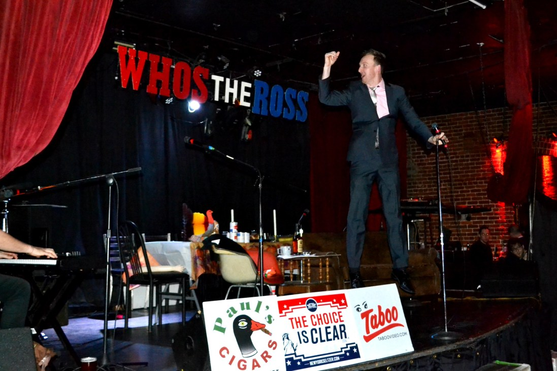 """""""Who's the Ross?"""" Aaron Ross comedian comedy funny humor host talk show Portland PDX"""