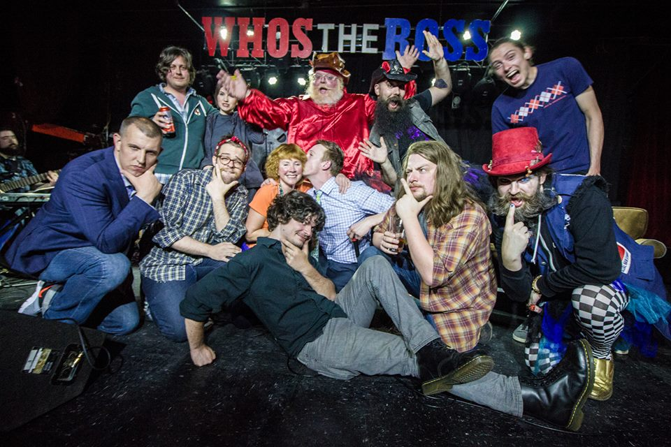 who's the ross Aaron PDX Portland comedy comedian improv sketch late-night talk show Mother's Day mom