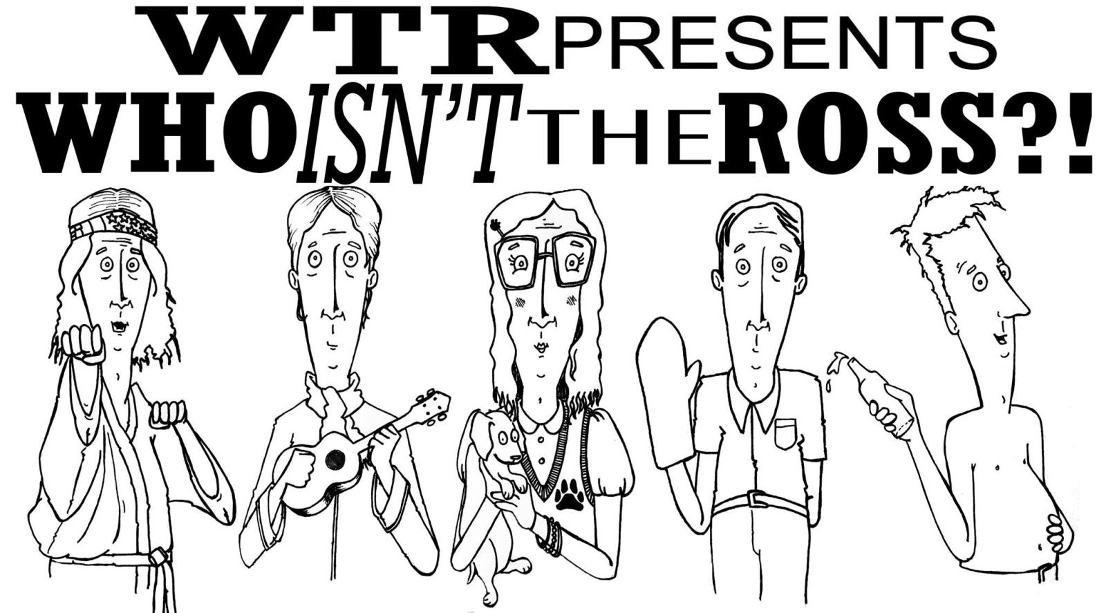 Who's the Ross Portland comedy comedian PDX one-man show perforamance sketch improv The Liquor Store Aaron Ross actor