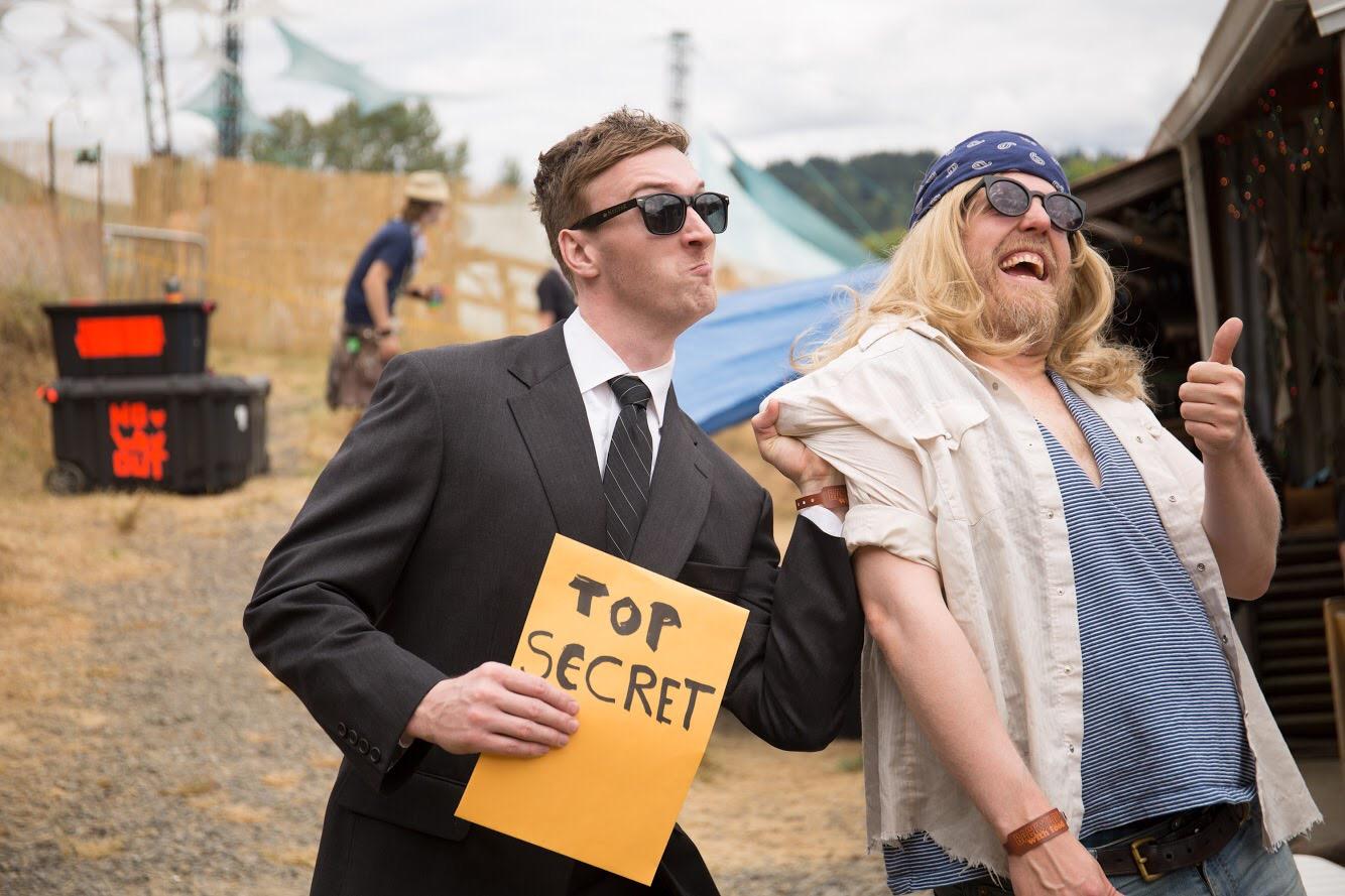 Breaking Point Pickathon music festival comedy series cop drama parody portland oregon pdx comedian improv sketch film indie short funny humor Aaron Ross Brian Koch
