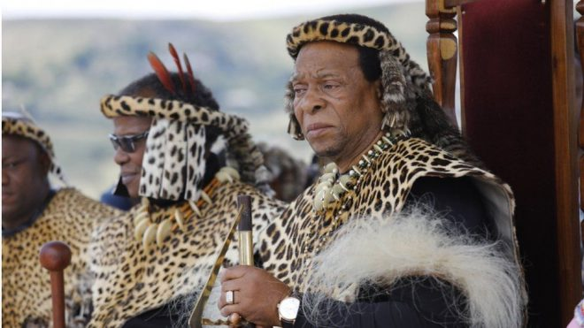Zulu King, Goodwill Zwelithini Dies At 72