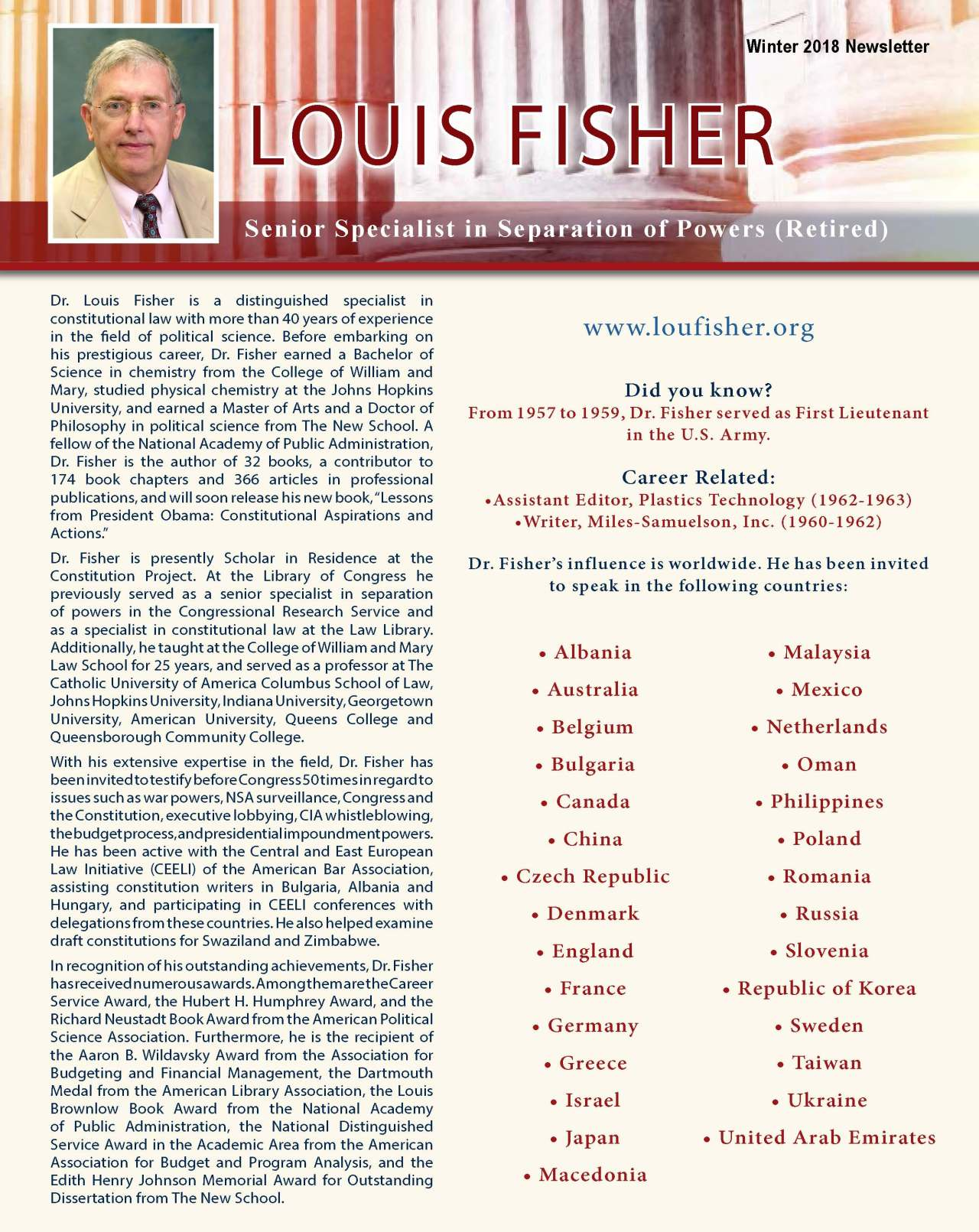 Fisher, Louis 3689645_4003689645 Newsletter REVISED.jpg